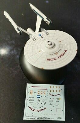 Star Trek Starships EAGLEMOSS USS Enterprise NCC-1701-A REFIT DECALS ONLY