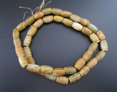 Ancient Chinese,old jade,beads,Hand woven,Prayer Necklace,Amulet Necklace,M663