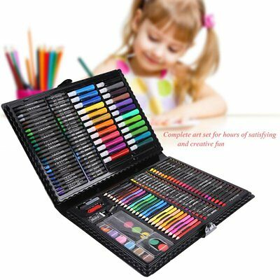 Crayon 168pcs Infantil Rotulador de Dibujo Set Kit Pintura Bocetos Lápiz Color