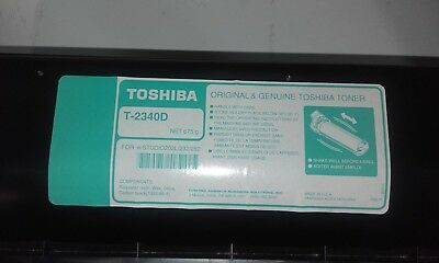 1 x Genuine Toshiba e-Studio 232 282 Toner Cartridge T2340D