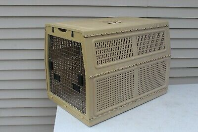 """NYLABONE Collapsible Dog Pet Crate Kennel Extra Large 32"""" x 22""""w x 23"""" Tall READ"""