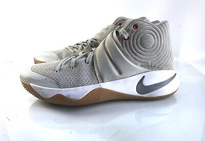save off 9a81c bb0df Nike Kyrie 2 Summer Pack Light Bone Silver 819583-001 Men s Size 11