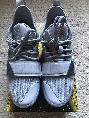 ad96f42b8893 Used Nike PG 2.5 PlayStation Paul George Wolf Grey Size 9.5 USA Basketball  Shoes