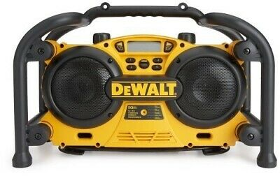 ** DeWalt Work Site Radio/Charger DC011 ** Brand New ** 7.2 - 18 Volt AM/FM/AUX