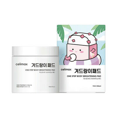 [CELIMAX] One Step Body Brightening Pad - 1pack (60pcs)