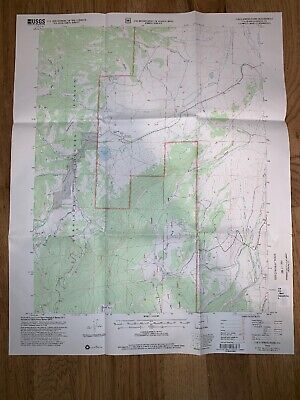Cold Springs Park Colorado CO USGS Topographic Map Topo 2001 Saguache County