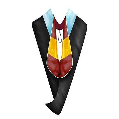 2c641b7c833 MASTER DEGREE GRADUATION Cap and Gown with 2019 Year Charm Black ...