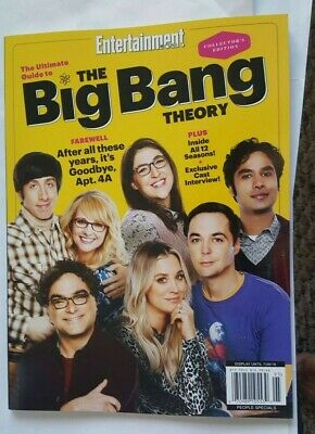 Entertainment Weekly The Ultimate Guide To The Big Bang Theory Magazine 2019