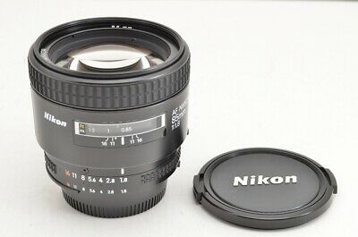 """EXCELLENT"" Nikon AF NIKKOR 85mm F1.8 Lens for F Mount #190501a"