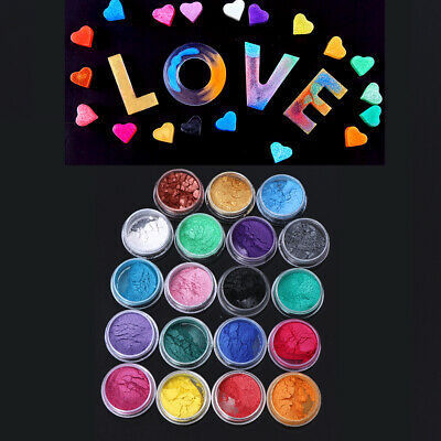 Resin Jewelry Colorant Dye Mica Pearl Superfine Pigment Powder Resin Dye Craft