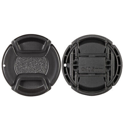 Center Pinch Snap-on 40.5mm Lens Cap Cover Keeper Holder for Canon Nikon So Z9F8