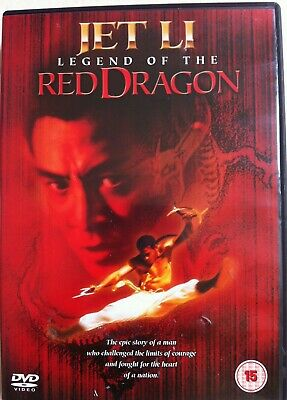 Jet Li Legend Of The Red Dragon ~ 1994 Artes Marciales Epic GB DVD