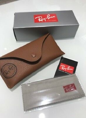 Ray-Ban Case Box Astuccio originale per occhiali da sole o da vista Sunglasses