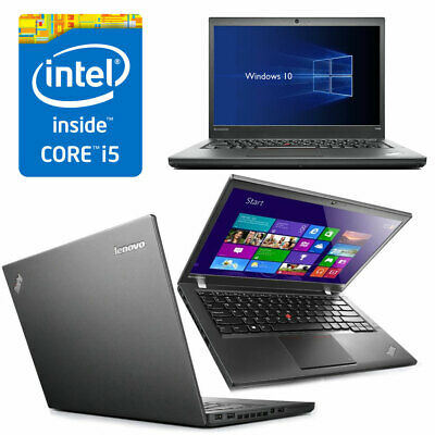 "PC PORTATILE LENOVO THINKPAD T440 CORE i5 RAM 4GB 500GB 14"" WINDOWS 7 / 10 PRO"