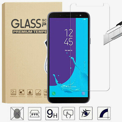 100% Genuine Tempered Glass Screen Protector for Samsung Galaxy A5 A7 A8+ Plus