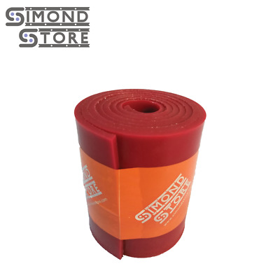 "Silicone Rubber Sheet, High Temp Solid Red Standard Grade 3"" x 36"" x 1/8"""