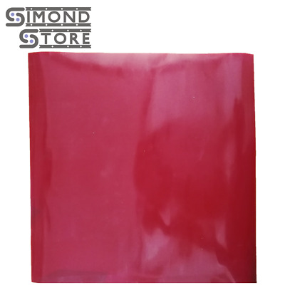 "1/4"" Silicone Rubber Sheet High Temp Solid Red Standard Grade 36"" x 36"" Sq"