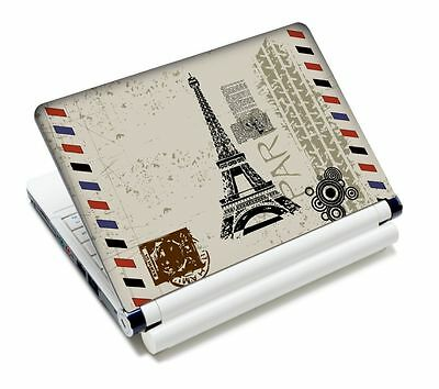 Paris Laptop Sticker Skin Decal For 15'' 15.4'' 15.6'' Sony HP Dell Acer Toshiba
