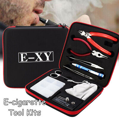 Coil DIY Master Vape Bag Coil Kit Tool Set Coil Jig Ohm Meter Ceramic