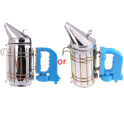 Electric Beekeeping Smoker Bee Farm Smoke Treatment Stainless Steel Rechargeable