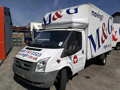 Ford Transit Luton Box Van with Tail-lift 2007 our vehicle last 6 years