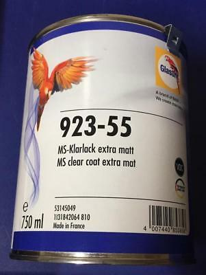Glasurit Klarlack extra matt 923-55 , 0.75 Liter