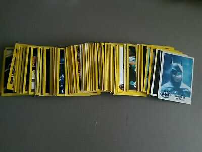 Batman Series 2 Trading Cards X125 not complete