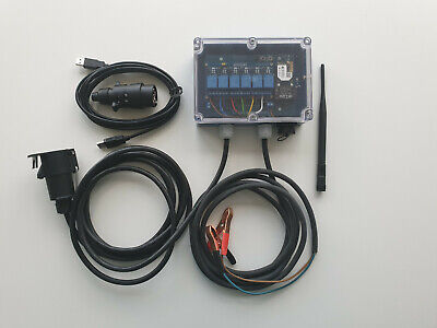 Starting lights controller for Zround timing software