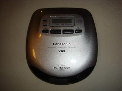 Panasonic sl-s650 Portable CD Player Personal XBS MASH Vintage Mint Condition