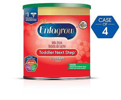 Enfagrow Toddler Next Step, Vanilla Flavor - Powder Can 24 oz (Case of 4)