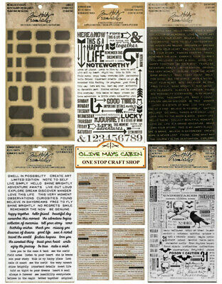 Tim Holtz Alphabet Stickers  ::  Remnant Rubs  ::  Life Quotes  ::  Metallic