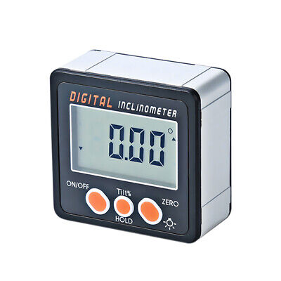 Mini LCD Digital Inclinometer Protractor Angle Finder Bevel Measuring Box T8R5