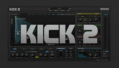 Sonic Academy Kick 2 Drum Synthesizer FULL ✔ (Win) 64-bit ✔ INSTANT DELIVERY ✔