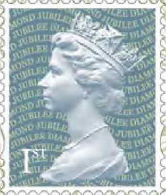 100 VGC Off Paper, Unfranked First 1st Class Silver Stamps