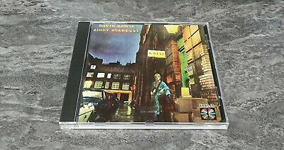 David Bowie The Rise And Fall Of Ziggy Stardust Spiders From Mars CD RCA PD84702