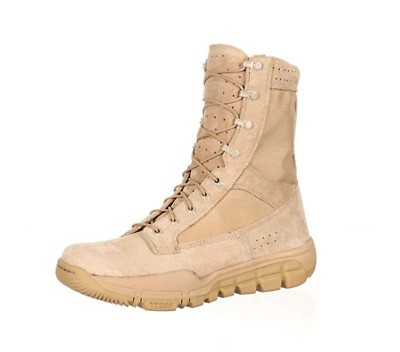 """Rocky Tactical Boots Mens 8"""" Light Leather"""