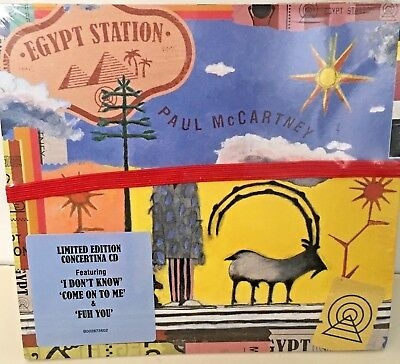 Paul McCartney Egypt Station (Limited Edition Extra Tracks) (Free Post New) CD