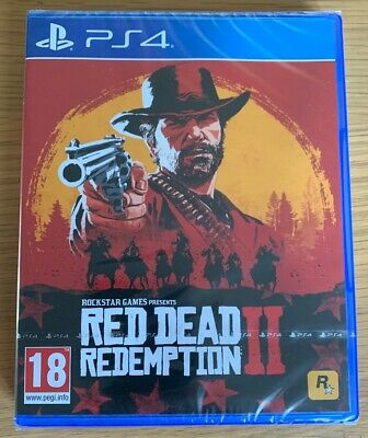 Red Dead Redemption 2 PS4 PlayStation 4 - Brand New And Sealed Perfect