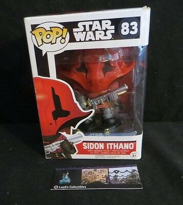 Aufsteller & Figuren Star Wars Episode Vii Force Awakens Sidon Ithano Pop Vinyl 10cm Funko 83