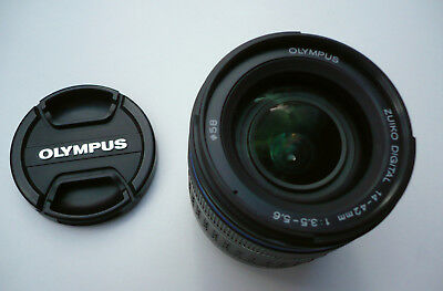 Olympus Digital Zuiko ED 14-42mm f/3.5-5.6 ED Four-Thirds Lens