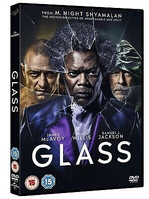 Glass [DVD] 2019 Brand New and Sealed