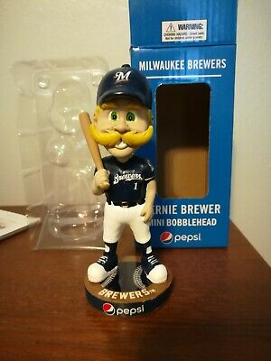 2019 Milwaukee Brewers Pepsi Bernie Brewer Mini Bobblehead