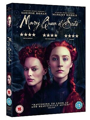 Mary Queen Of Scots DVD 2019 Brand New and Sealed