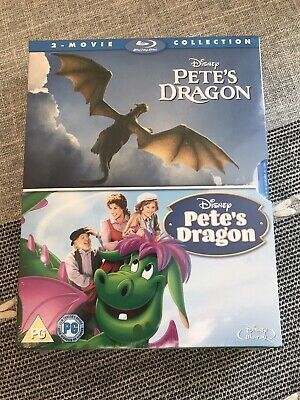 Petes Dragon Disney Live Action & Animation 2 Collection Blu-ray NEW Region Free