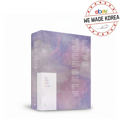 [Pre Order] BTS World Tour LOVE YOURSELF Newyork DVD 2DISC+Photobook+Photo Card