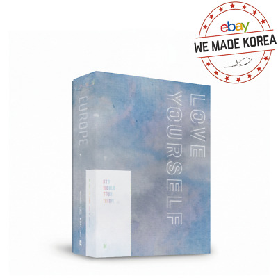 [Pre Order] BTS World Tour LOVE YOURSELF Europe DVD 2DISC+Photobook+Photo Card
