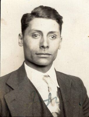 Vintage Photo Booth Photo Arcade Photo Handsome Man Suit Gay Interest Free Ship