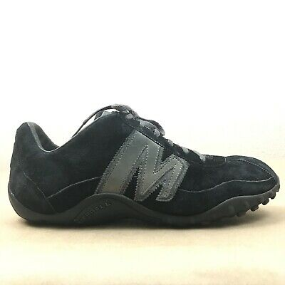 2a4ef98503c91 Merrell Sprint Blast Men's Shoes Size 10 Lace Up Leather Suede Black Pewter