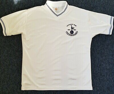 Vintage Retro Tottenham Hotspur Home Centenary Shirt, Toffs, Size UK Large Mens