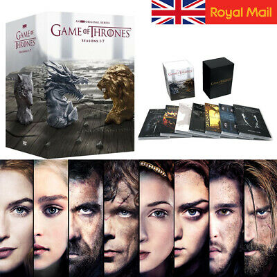 Uk Game Of Thrones: The Complete Season 1-7 Box Set Dvd Disk Set Free Shipping